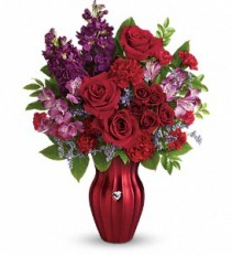 Valentine's*Shining Heart Bouquet T17V100A