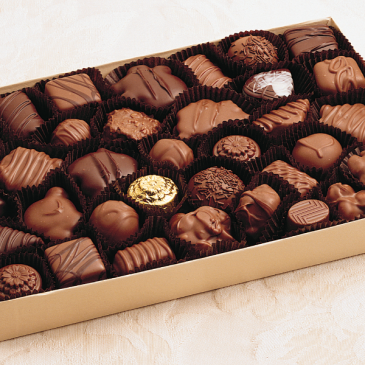 Vande Walle's 1 lb assorted chocolates Chocolates