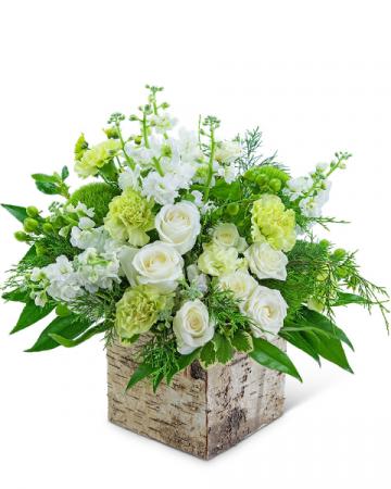 Vanilla Birch Flower Arrangement