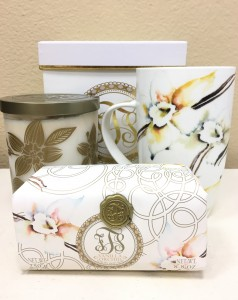 Vanilla Orchid  Gift Set in Riverside, CA | Willow Branch Florist of Riverside