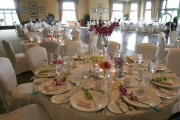 Varied Height Centerpiece Wedding Centerpiece