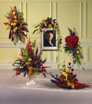 Variety of Funeral Pieces   in Bedford, NH | DIXIELAND FLORIST & GIFT SHOP INC.