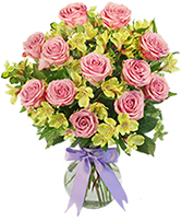 Pinky Swear Vase Arrangement