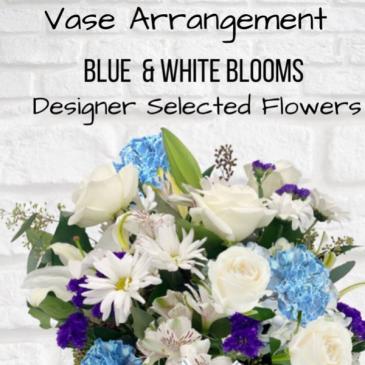 Vase Arrangement-Blue