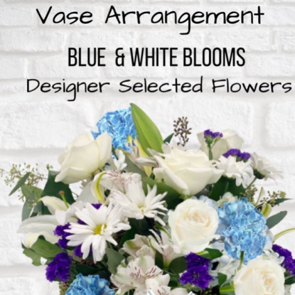 Vase Arrangement-Blue