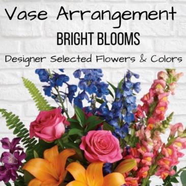 Vase Arrangement-Bright