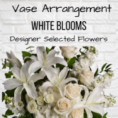 Vase Arrangement-White