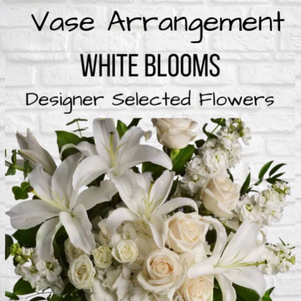 Vase Arrangement-White