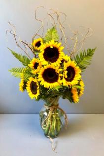 Vase full of Sunshine Birthday