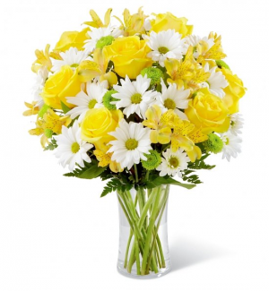 You are My Sunshine Vase Arrangement in Lebanon, NH | LEBANON GARDEN OF EDEN FLORAL SHOP