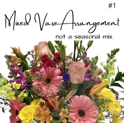 Seasonal Fall Vase- Price Range #1