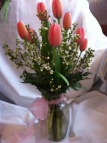 Vase of Tulips Vase Arrangement