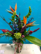 V-day19 Special Tropicals with seasonal fresh cut flowers