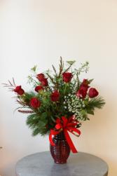 Velvet Dozen Roses