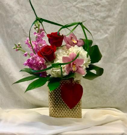 Velvet Heart Fresh Floral Design