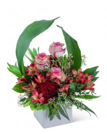 Velvet Wineberry Flower Arrangement