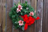 Velvet Wishes Silk Wreath