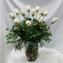 Vendella White Rose Fresh Floral Design