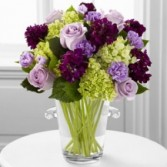 Vera Wang Collection: Purple Hue Exclusive Vase Arrangement