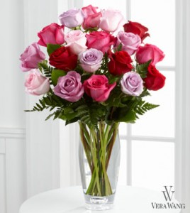 Vera Wang Mixed Roses  in Kitchener, ON | KITCHENER ONTARIO FLORIST