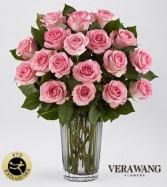 Vera Wang pink roses