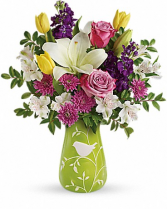 "Veranda Blooms T16E105 16""(w) x 18.5""(h)"