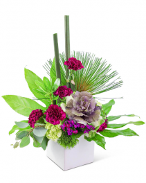Verdant Reign Flower Arrangement