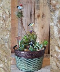 Verde Copper Pot Garden Live plants