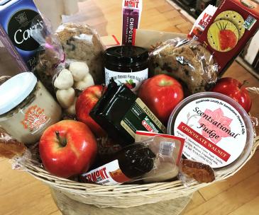 Vermont Artisan Food Basket Gift Basket