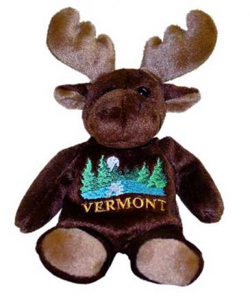Vermont Moonlight Moose - 8'' Mary Meyer Plush