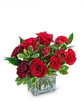 Very Cherry Flower Arrangement