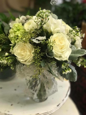 Very Vintage Vase Arrangement in Huntington, TX | LIZA'S GARDEN