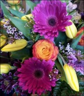 Vibrance Vase arrangement in Northport, New York | Hengstenberg's Florist