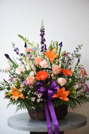 Vibrant Basket  in La Grande, OR | FITZGERALD FLOWERS