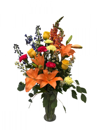 Vibrant Beauty Vase Arrangement