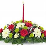 Vibrant Christmas Centerpiece