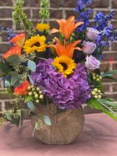 VIBRANT EXPRESSION assorted flowers