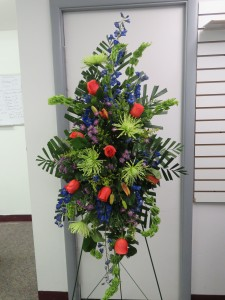 Vibrant Floral Expression Funeral Flowers in Bend, OR | ANA'S ROSE N THORN