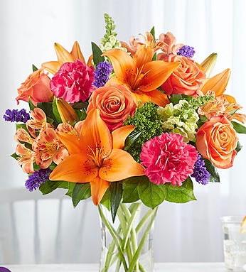 Vibrant Floral Medley  176433