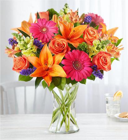 Vibrant Floral Medley
