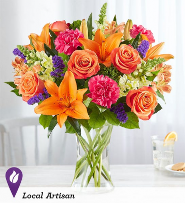 Vibrant Floral Medley every day