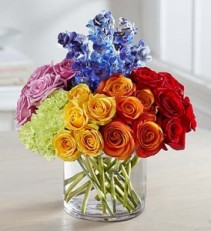 Vibrant Floral Medley From Roma florist