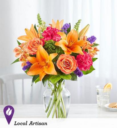 Vibrant Floral Medley Summer Arrangement