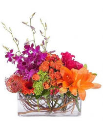 Vibrant Fruition Vased Arrangement