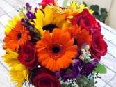 Vibrant Garden Bouquet Wedding
