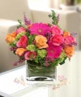 Vibrant Garden Vase