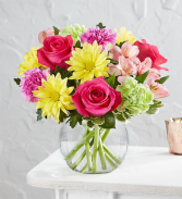 Vibrant Gem Bouquet Fresh Arrangement