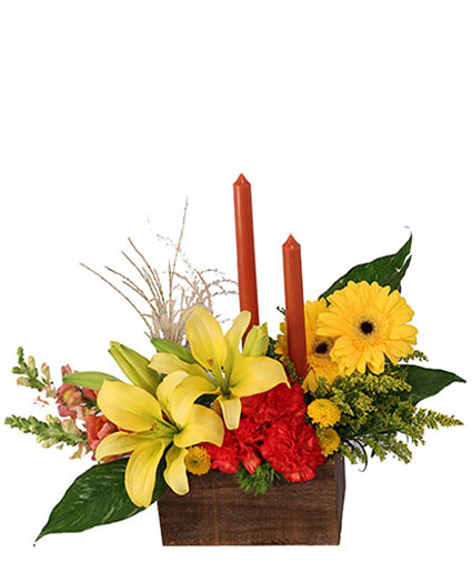Vibrant & Glowing Centerpiece