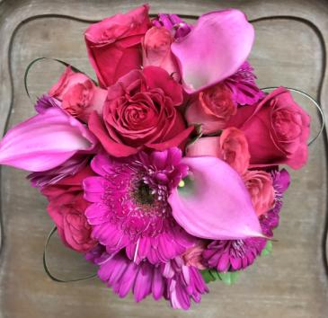 Vibrant Handheld Handheld Bouquet