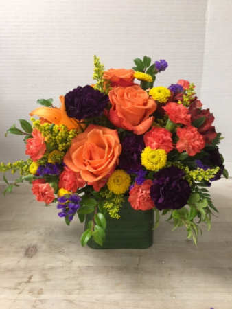 Vibrant Jewel Tones Arrangement